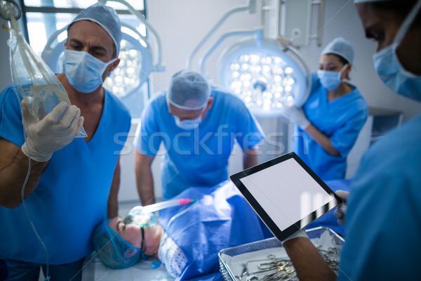 Grup cerrahlar operasyon oda hastane Stok fotoğraf © wavebreak_media