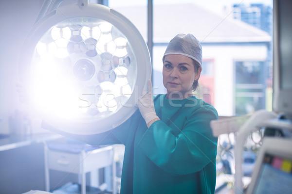 Portré sebész sebészi fény operáció szoba Stock fotó © wavebreak_media