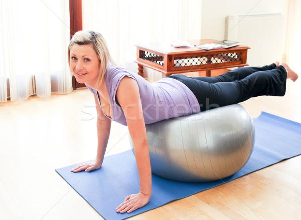 Athletic woman doing exercice  Stock photo © wavebreak_media