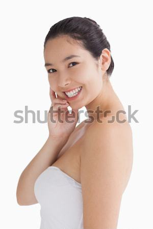 Donna felice bellezza femminile Foto d'archivio © wavebreak_media
