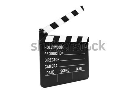 Film boord witte film video Films Stockfoto © wavebreak_media