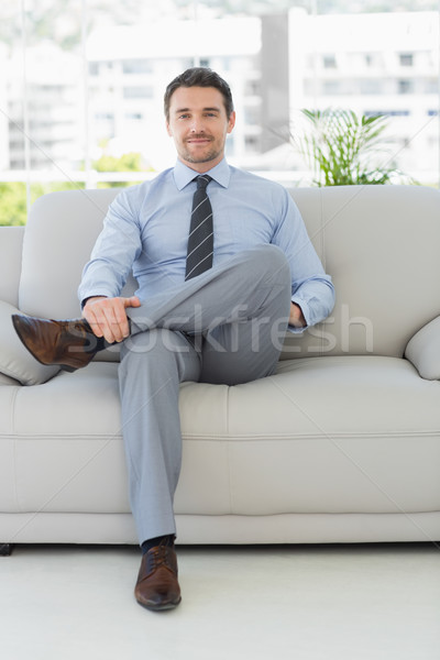 Portrait of a well dressed young man at home Stock photo © wavebreak_media