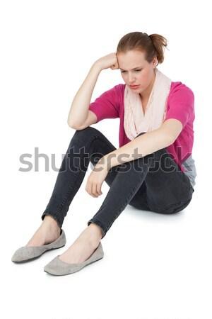 Full length of a sad young woman Stock photo © wavebreak_media
