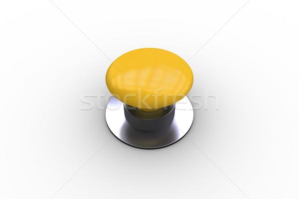 Digitalmente generato lucido giallo pulsante Foto d'archivio © wavebreak_media