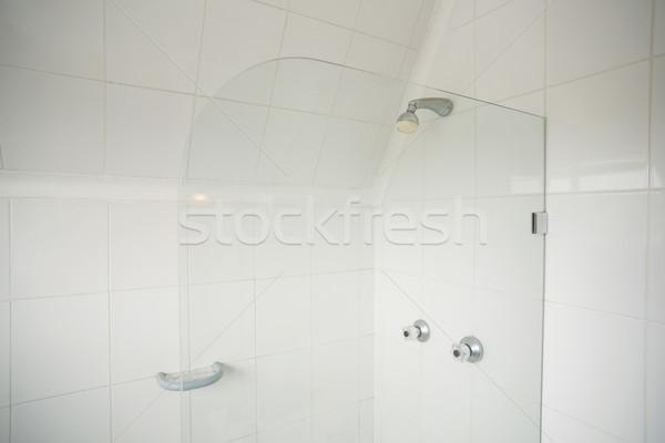 シャワー ガラス 光 ホーム タイル ストックフォト © wavebreak_media