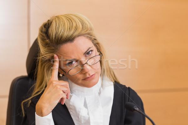 裁判官 見える カメラ 裁判所 ルーム ストックフォト © wavebreak_media