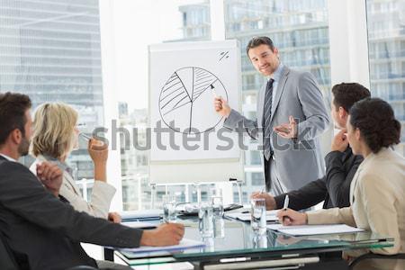 画像 グローバルなビジネス インターフェース ビジネスの方々  オフィス ストックフォト © wavebreak_media