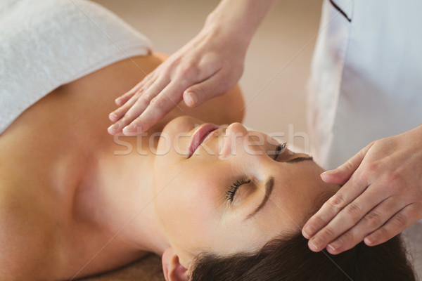 Reiki trattamento terapia stanza donna Foto d'archivio © wavebreak_media