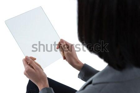 üzletember tart üveg okostelefon közelkép kéz Stock fotó © wavebreak_media