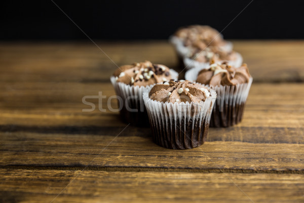 шоколадом таблице выстрел студию кремом Сток-фото © wavebreak_media