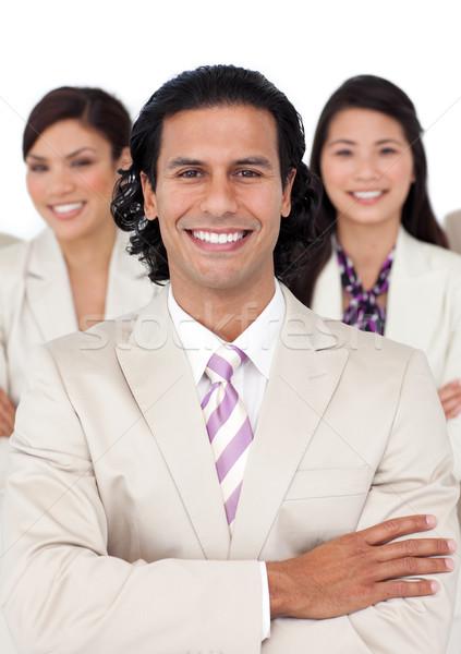 Portrait gestionnaire équipe blanche sourire homme Photo stock © wavebreak_media