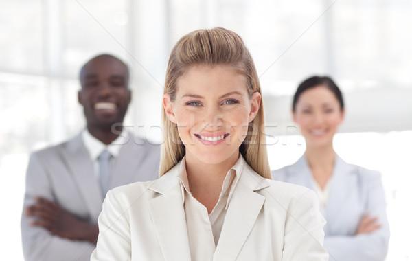 женщины менеджера команда служба человека работу Сток-фото © wavebreak_media