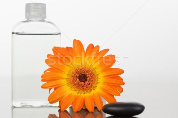 черный оранжевый стекла колба белый Сток-фото © wavebreak_media