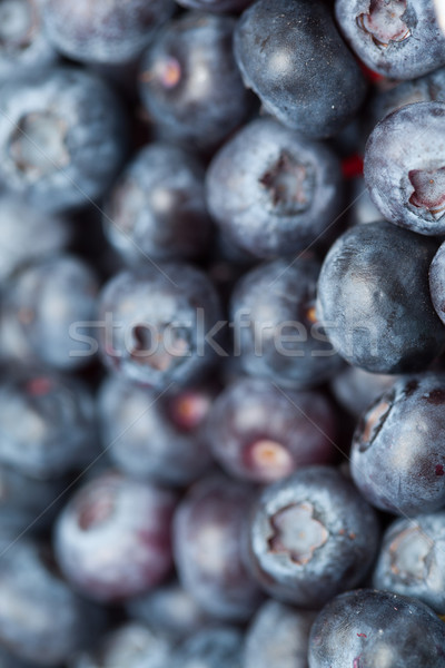 Heap of blueberries  in a high angle view Stock photo © wavebreak_media