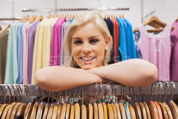 女性 ブティック 笑顔の女性 笑みを浮かべて ストックフォト © wavebreak_media