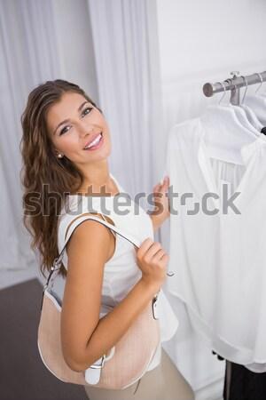 Young woman brushing teeth Stock photo © wavebreak_media