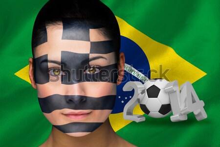 Dopasować dziewczyna zielone bikini Brazylia Zdjęcia stock © wavebreak_media