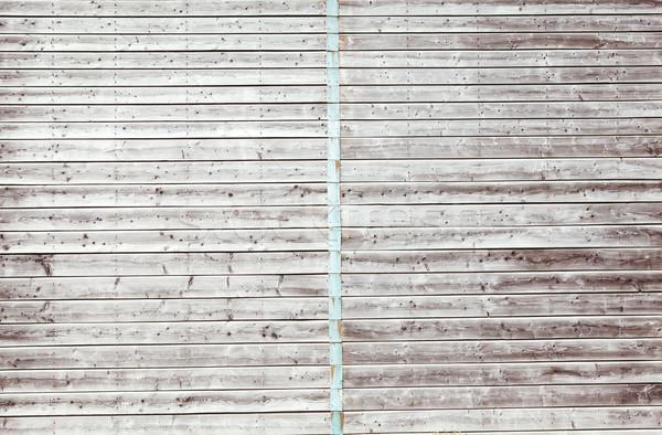 Digitally generated grey wooden planks Stock photo © wavebreak_media