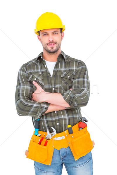 Manual worker with tool belt  Stock photo © wavebreak_media
