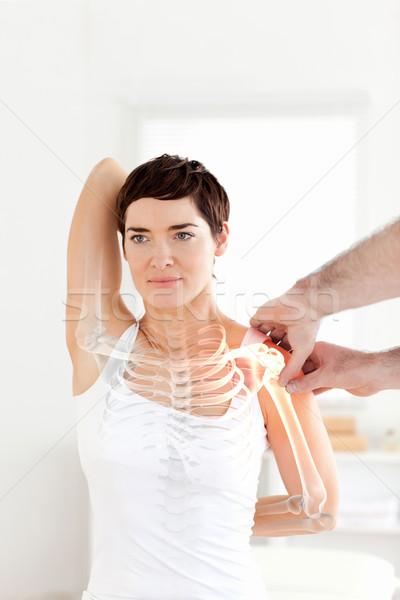 Os femme composite numérique médecin médicaux médecine Photo stock © wavebreak_media
