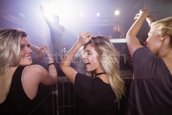 幸せ 女性 友達 ダンス ナイトクラブ 音楽祭 ストックフォト © wavebreak_media