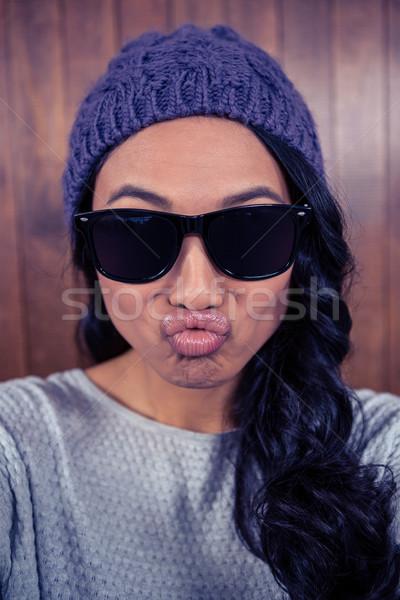 Asian woman pouting Stock photo © wavebreak_media