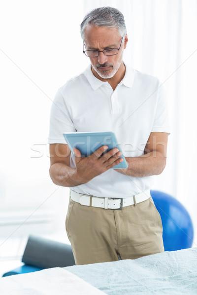 Digital comprimido casa internet médico médico Foto stock © wavebreak_media