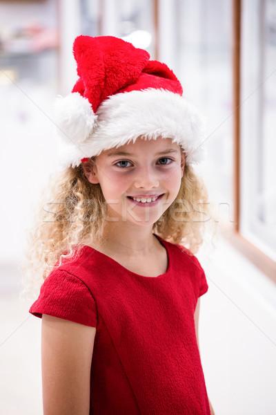 Portrait of a girl in Christmas attire Stock photo © wavebreak_media