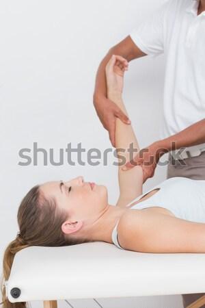 Indietro massaggio view Foto d'archivio © wavebreak_media