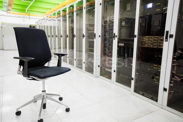 Empty chair in corridor Stock photo © wavebreak_media