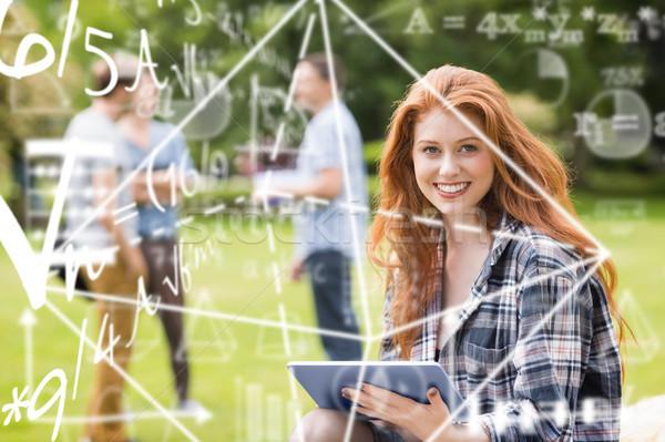 Immagine matematica equazione uomo studente Foto d'archivio © wavebreak_media