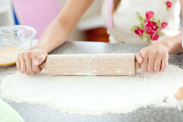 Refeição preparação cozinha casa comida Foto stock © wavebreak_media