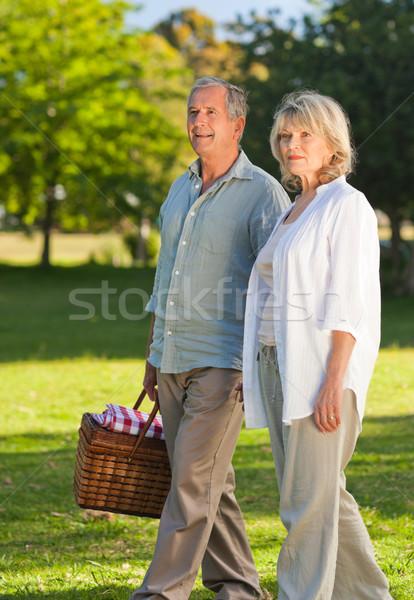 Ruhestand Paar schauen Stelle Familie Schönheit Stock foto © wavebreak_media