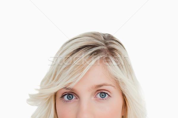 лице глядя белый глазах свет портрет Сток-фото © wavebreak_media