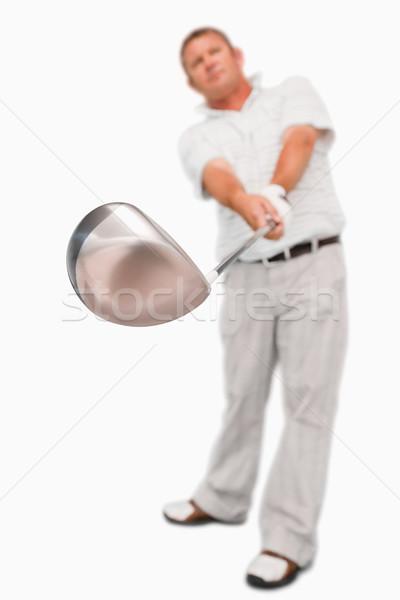 гольф клуба используемый белый спорт играть Сток-фото © wavebreak_media