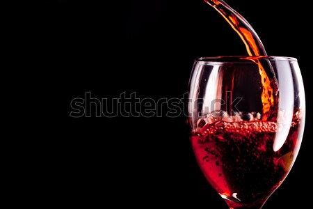 Stemware being filled with wine Stock photo © wavebreak_media