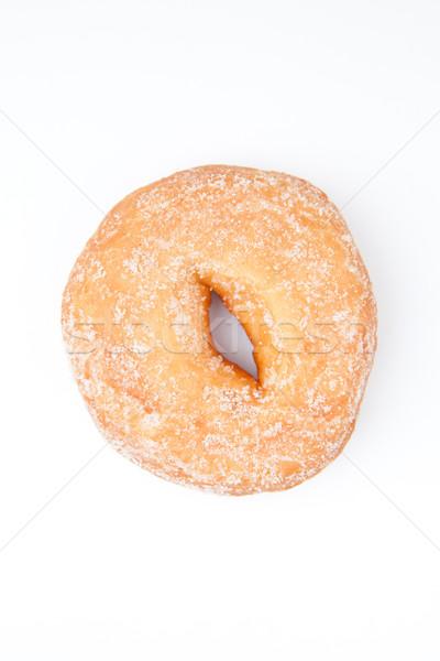 Aşırı tatlı çörek glasaj şekeri beyaz arka plan Stok fotoğraf © wavebreak_media