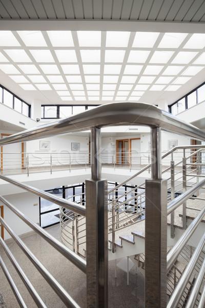 Empty stairwell of hospital Stock photo © wavebreak_media