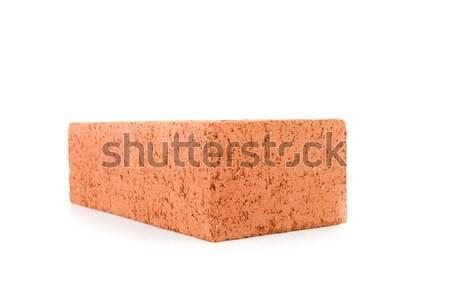 Rouge construction brique blanche Photo stock © wavebreak_media