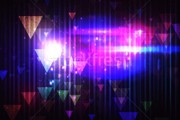 クール ナイトライフ デザイン パーティ エネルギー デジタル ストックフォト © wavebreak_media