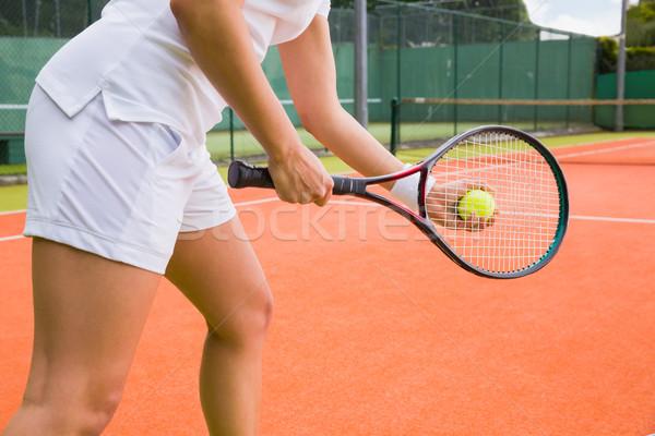 Pronto esportes fitness bola Foto stock © wavebreak_media