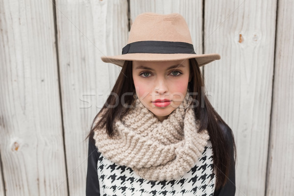 Pretty hipster looking at camera Stock photo © wavebreak_media