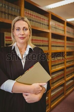 Avocat livre droit bibliothèque Université Photo stock © wavebreak_media