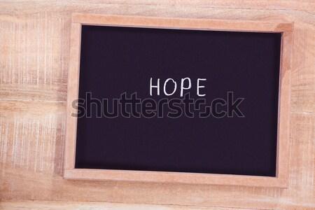 Composite image of chalkboard    Stock photo © wavebreak_media