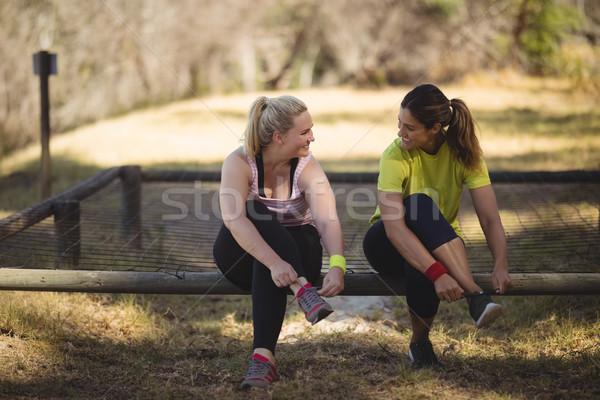женщины обувь тренировки загрузка Сток-фото © wavebreak_media