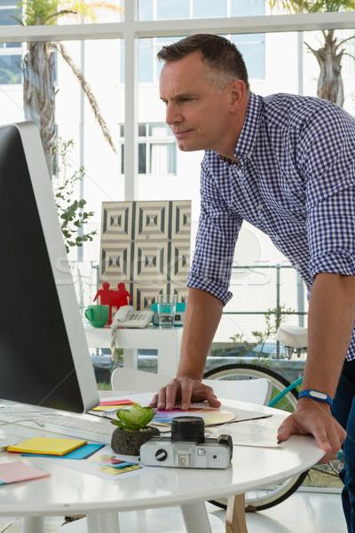 дизайнера студию Постоянный бизнеса служба Сток-фото © wavebreak_media