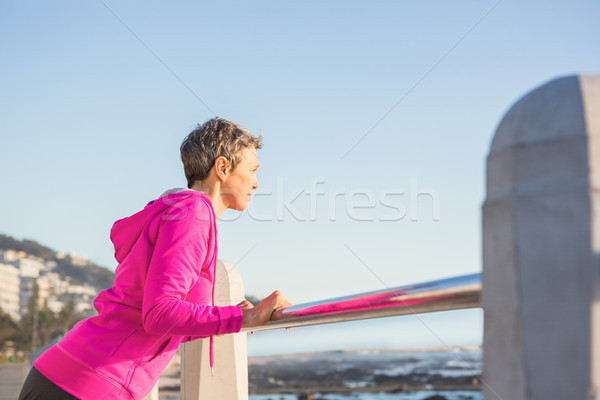 женщину прогулка счастливым Сток-фото © wavebreak_media