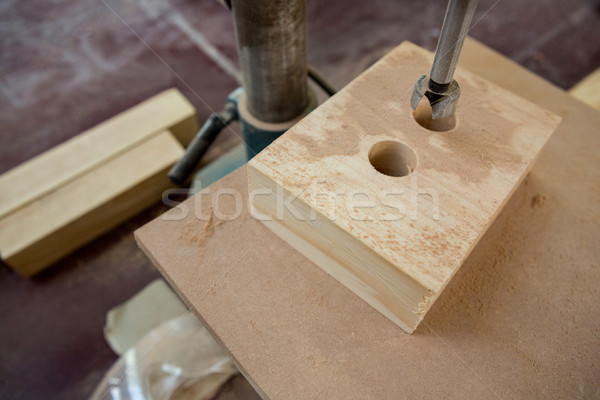 Zoom of carpenters machine Stock photo © wavebreak_media