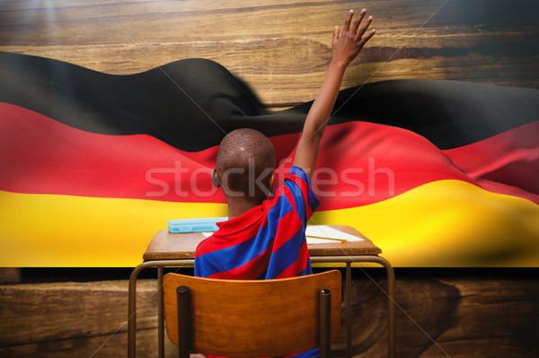 Afbeelding school gelukkig kind Stockfoto © wavebreak_media