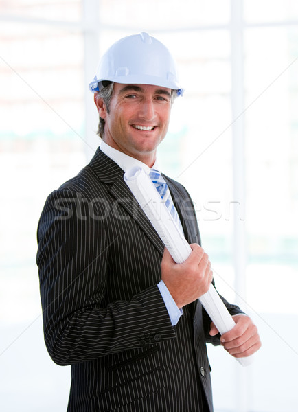 Portrait of an assertive male architect Stock photo © wavebreak_media